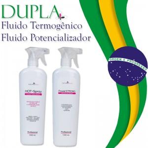 Dupla: Fluido termogênico e Fluido Potencializador - Promoção Setembro