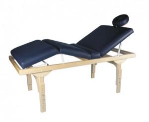 Maca De Massagem Fixa Com Altura Regulável Belatrix Spa - Legno