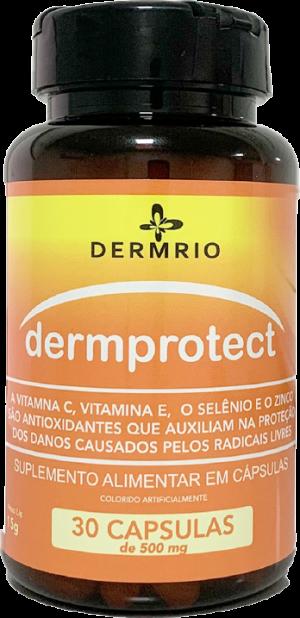 Dermprotect Suplemento Alimentar em Cápsulas 150mg - Dermrio
