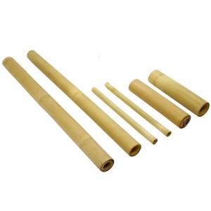 Kit Bambu com 06 pecas Lixado