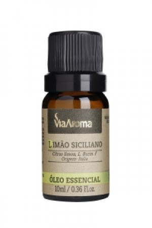 OLEO ESSEN. LIMAO SICILIANO - 10ML VIA AROMA
