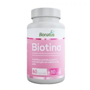 BIOTINA 70 CAPS BIONATUS