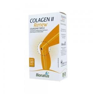 COLAGENO TIPO II RENEW 30 CAPS BIONATUS