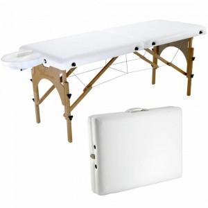 Mesa para Massagem Maleta Ibiza com ALTURA REGULÁVEL - Salus