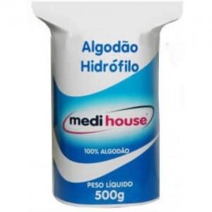 Rolo de Algodao Hidrofilo 500g