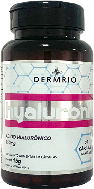 Hyaluronic Suplemento Alimentar em Cápsulas 150mg - Dermrio