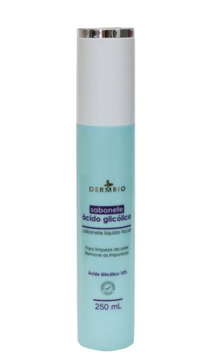 Sabonete Ácido Glicólico 250ml - Dermrio
